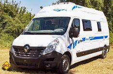 Ahorn kann als einzige Firma einen Kastenwagenausbau auf dem Renault Master anbieten. (Foto: Werk)