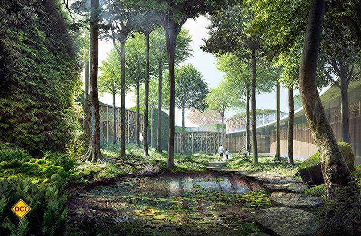 Märchenhafte Stimmung verspricht der Neubau des neuen Andersen-Museums auf der dänischen Insel Fünen. (Foto: Visitdenmark)