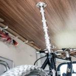 bike-holder – die geniale Fahrradbefestigung für Heckgaragen