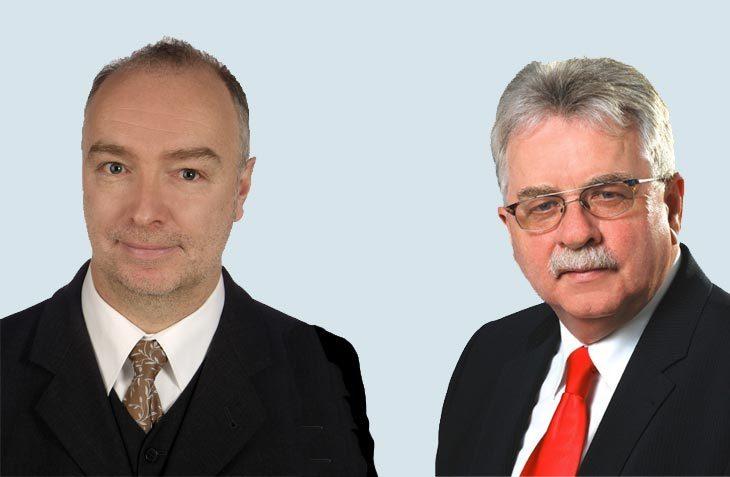 Rudolf Bader (links) und Theo Dammertz beraten seit acht Jahren erfolgreich die Stellplatz-Szene. (Foto: Dammertz und Bader)