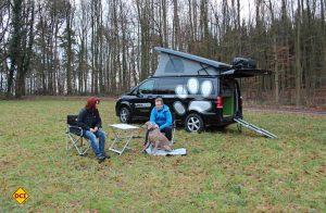 Speziell für den Urlaub mit Hund hat Terracamper die neue Marke Dogscamper modular gestartet. (Foto: Werk)