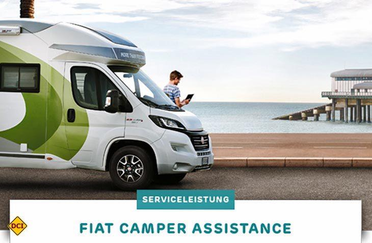 1.800 Camper Assistance-Stellen stellt Fiat für Womofahrer als Service-Hilfe in Europa zur Verfügung. (Foto: Fiat Professional)