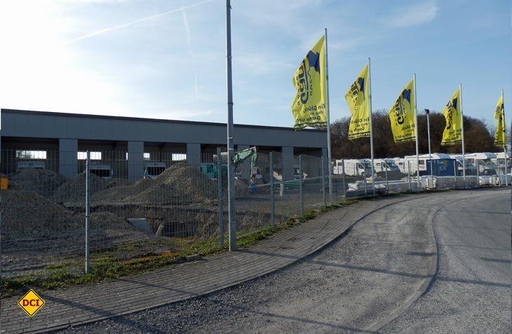 Discounter Uwe Gante erweitert seine Verkaufsgelände um Werkstätten und einen Servicebereich. (Foto: det)