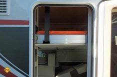 """Befindet sich das Hubbett im """"Schlafmodus"""", ist der Weg nach draußen deutlich beschwerlicher. (Foto: det)"""