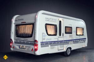 Der 500.000ste Caravan von Hobby. (Foto: Werk)