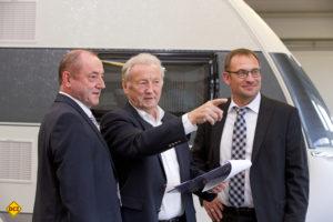 Die aktuelle Geschäftsführung 2017: von links: Michael Striewski, Harald Striewski, Holger Schulz. (Foto: Werk)