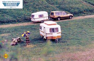 An der Hymer Historic Rallye in Bad Waldsee können historische Fahrzeuge bis 1985 teilnehmen. (Foto: Hymer)