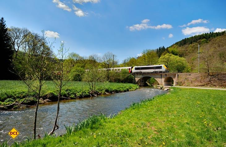Luxemburg ist ein Paradies für Wanderer und Radfahrer. Die Bahn übernimmt den Transport und verbindet die einzelnen Etappen. (Foto: Visit Luxembourg)