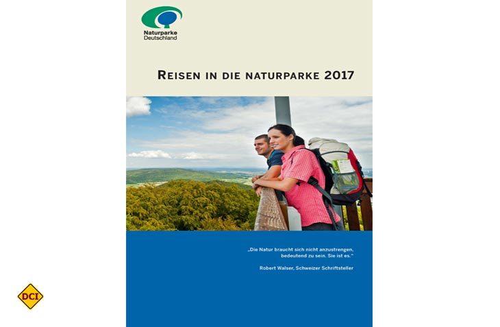 Die Reisebroschüre 2017 enthält neben buchbaren Naturerlebnis-Angeboten aus Naturparken in Deutschland auch Angebote aus Österreich, der Schweiz und Luxemburg. (Foto: VDN)
