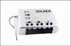 Der neue Solara SR280E MPPT-Laderegler passt automatisch die Eingangsspannung optimal an die Batteriespannung an, die Solaranalge kann so maximale Leistung einspeisen. (Foto: Solara)