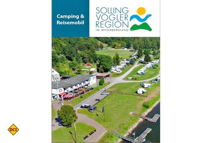 Reisemobile willkommen: Die Solling-Vogler Region im Weserbergland stellt den neuen Caravaning-Katalog 2017 vor. (Foto: Solling-Vogler-Region)