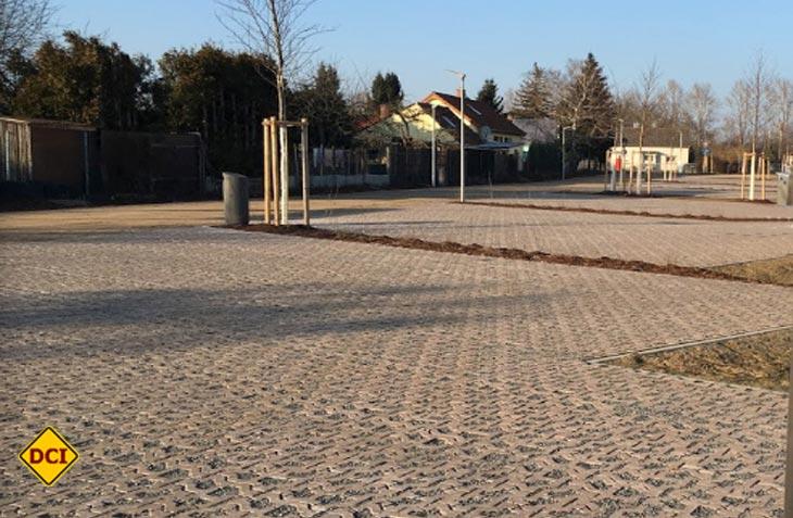: Fünfzehn recht zentral gelegene Stellplätze mit guter Infrastruktur hat die Stadt Mannheim im Ortsteil Neuostheim eingerichtet. (Foto: Stadt Mannheim)