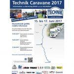 Die Technik Caravane ist auch 2017 wieder unterwegs