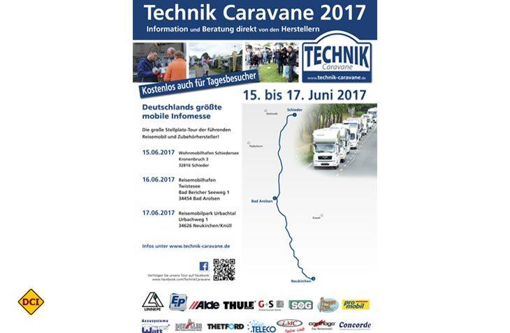Die Technik-Caravane 2017 fährt 2017 drei Stationen in Hessen an. (Foto: Technik-Caravane)