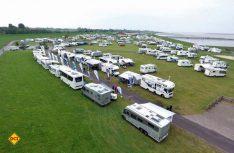Fachberatung in familiärem Umfeld: Die Technik Caravane nutzt Camping-oder Reisemobil-Stellplätze für ihre Präsentationen. (Foto: Technik Caravane)