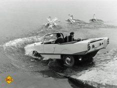 Das von Hanns Trippel konstruierte Amphicar. (Foto: Technoseum)