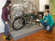 23 Zweiräder stehen in dem neuen Ausstellungsbereich. (Foto: Technoseum)