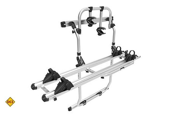 thule fahrradtr ger f r kastenwagen deutsches caravaning institut. Black Bedroom Furniture Sets. Home Design Ideas