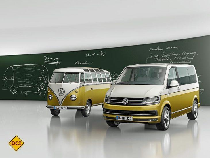 Zum 70. Geburtstag des VW Bulli hat Volkswagen jetzt eine Multifan-Sonderserie mit hochwertiger Auststattung aufgelegt. (Foto: Werk)