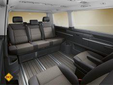 Für das Sondermodell 70 Jahre Bulli hat VW eine besonders hochwertige Innenausstattung gewählt. (Foto: Werk)