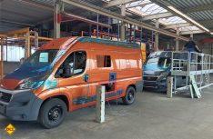 In Gotha werden die Fahrzeuge der Eigenmarke Westfalia gefertigt. (Foto: Werk)
