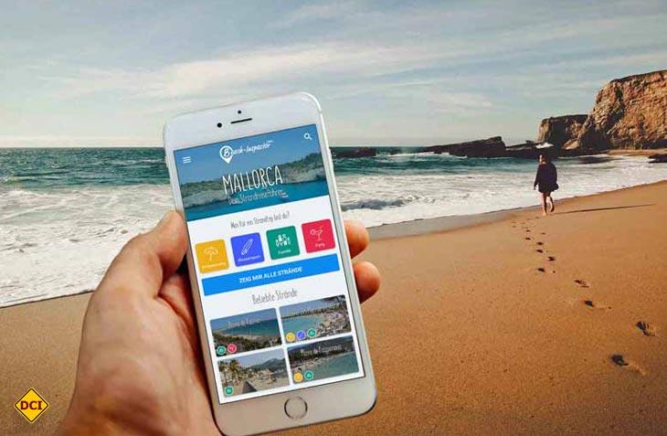 Mit der App zum Traumstrand: Beach-Inspector.com bietet Informationen zu Traumständen in bisher zehn Ländern. (Foto: Beach-Inspector)