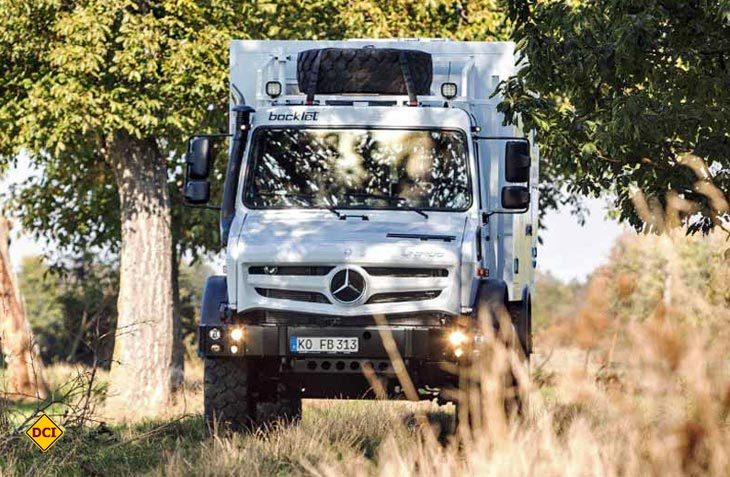 Mit dem Dakar U 690 erweitert Bocklet seine Fernreisemobil-Serie um ein kompaktes Mobil auf dem Unimog. (Foto: Werk)