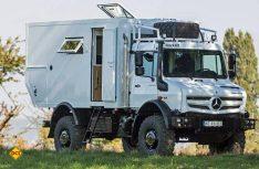 Ein kompaktes Fernreisemobil für zwei Personen mit sehr guter Offroad-Tauglichkeit: Der Bocklet Dakar U 690. (Foto: Werk)