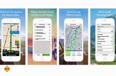 Mit CoPilot Wohnmobil Europa stellt der britische Navi-Spezialist ALK eine Camper-Offline-Navisoftware für Smartphones und Tablets vor. (Foto: Werk)