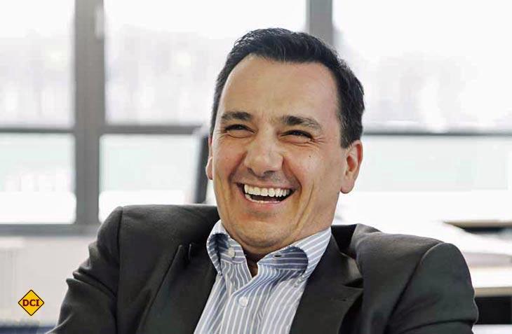 Berhard Kibler ist Geschäftführer der Marke Hymer. (Foto: kgm markenkommunikation)