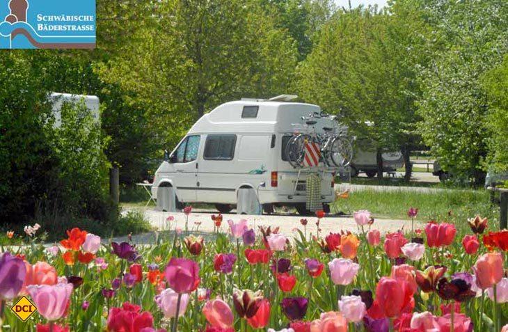 Wellness mit dem Wohnmobil: Die Schwäbische Bäderstraße bietet ein vorbildliches Netz an Reisemobil-Stellplätzen. (Foto: SBS)