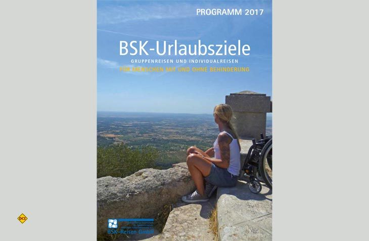 Der Bundesverband BSK legt seinen Katalog Urlaubsziele für barriefreies Reisen 2017 vor. (Foto: BSK)