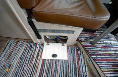 Gute Lösung: Das Frostschutzventil der Truma-Heizung ist griffgünstig angebracht. (Foto: det)