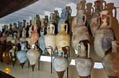 Die Amphoren-Sammöung im neuen archäologischen Musuem vom Comacchio. (Foto: Vistcomacchio)