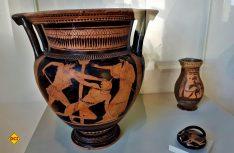 Griechisches und etruskische Exponaten gehören zu atesten der Sammlung. (Foto: Visitcomacchio)