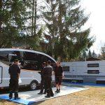 Fünfter Caravan Stellplatz für die Dethleffs Family Stiftung