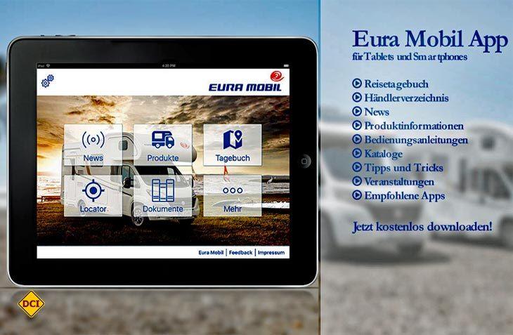 Mit der Eura Mobil App kann man auf der Reise aktuellen Erlebnisse im Reisetagebuch notieren und zusammen mit Fotos und Ortsangaben speichern. (Foto: Werk)