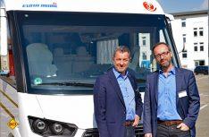 Die Macher des neuen Eura Integra: Euro-Chef Dr. Holger Siebert und Entwicklungs-Chef Frank Lessmann. (Foto: det)