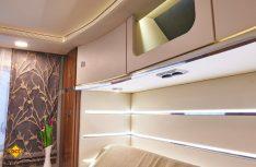Ein besonderes Augenmerk galt der Ambientebleuchtung und Illumination des Innenraumes. (Foto: Werk)