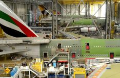 Hochtechnologie im Frankreichs Südwesten: Blick in die Montagehallen von Airbus.(Foto: CRT Midi-Pyrenees)