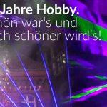 Hobby-Jubiläum: Mega-Lasershow statt Feuerwerk!