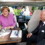 Bundeskanzlerin Angela Merkel besucht Hobby in Fockbek