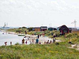 Die alte Seefahrerinsel Ærø in der Dänischen Südsee präsentiert sich mit romantischen Dörfern und historischen Hafenstädtchen und ist nur mit Fähren zu erreichen (Foto: visitdenmark/Kim Wyon)