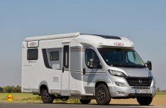 Mit der Van-Klasse hat LMC zwei komfortabel ausgestattete, teilintegrierte Paarmobile mit zwei Schlafplätzen im Programm. (Foto: det)