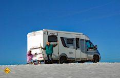 Winterspaß pur: Der LMC erwies sich als wintertaugliches Reisemobil. (Foto: alf)