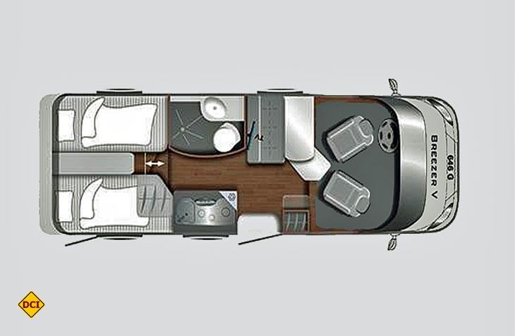 reisemobil dauertest lmc breezer v 646 g teil 1. Black Bedroom Furniture Sets. Home Design Ideas