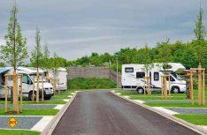 30 Reisemobil-Stellplätze in ruhiger Lage und mit bester Infrastruktur bietet Camping Fuussekaul für Gäste an. (Foto: det)