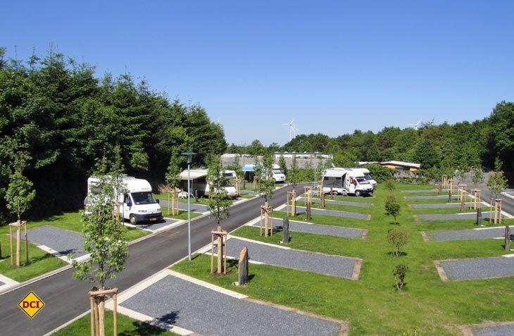 Reisemobil-Gäste auf dem Stellplatz Fuussekaul in Luxemburg können ab sofort auch die neue Saunalandschaft nutzen. (Foto: det)