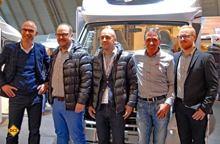 Die neue Malibu-Mannschaft (von links): Geschäftsführer Bernd Wuschak, Stefan Kölle, Marco Rutigliano, Martin Heinen und Alexander Löschinger. (Foto: det)
