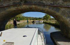 Mit der Penichette auf dem Canal du Midi. (Foto: det)